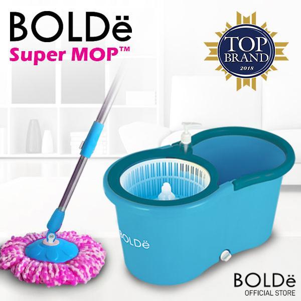 Bolde Alat Pel Lantai Otomatis Supermop M-99x+ Refill Microfiber & Botol Sabun By Bolde