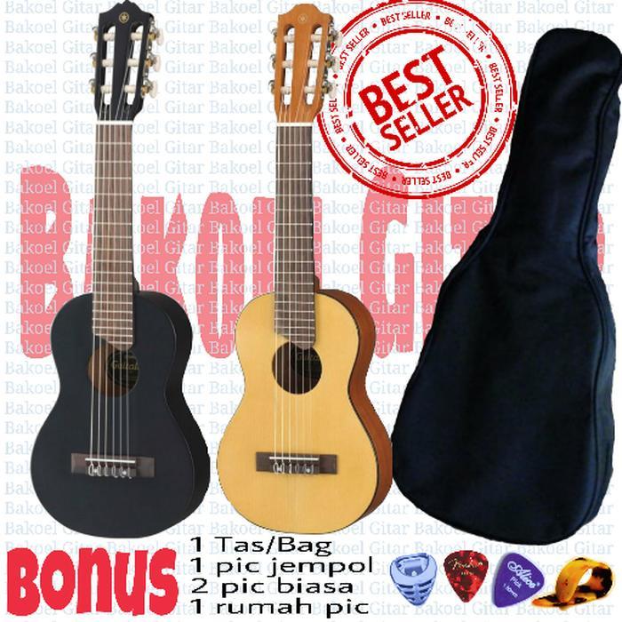 Guitalele / Ukulele Senar 6 Supercopy GL1 Custom Gitar akustik mini