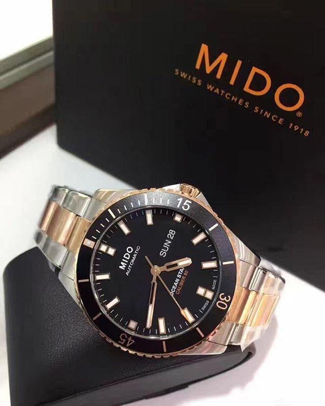 Original Watch  Jam Tangan   Mido Ocean Star Captain Automatic Original  M0264302205100 d28d6bffae