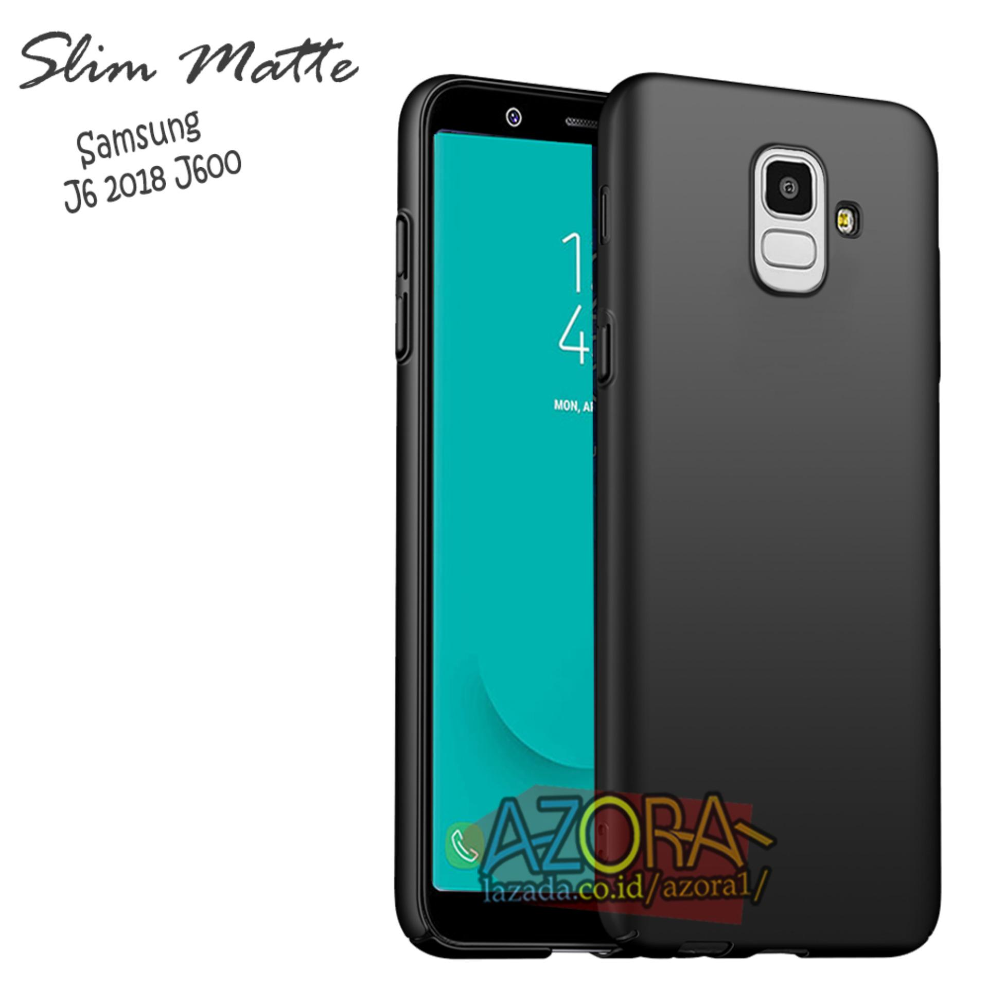 Case Slim Black Matte Samsung Galaxy J6 2018 J600 Baby Skin Softcase Ultra Thin Jelly Silikon Babyskin