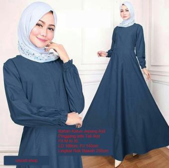 Price Checker Baju Muslim Original Gamis Vania Dress Baju Panjang
