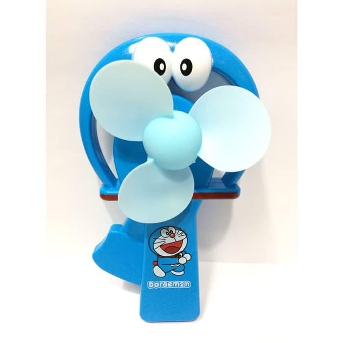 Promo Hemat Doraemon Kipas Tangan Portable Manual Fan Mainan Anak Laki Perempuan Harga Grosir