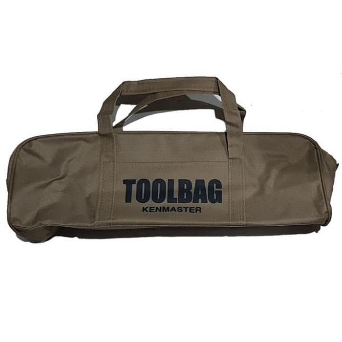 Kenmaster Toolbag Coklat - tas pekakas - tool bag