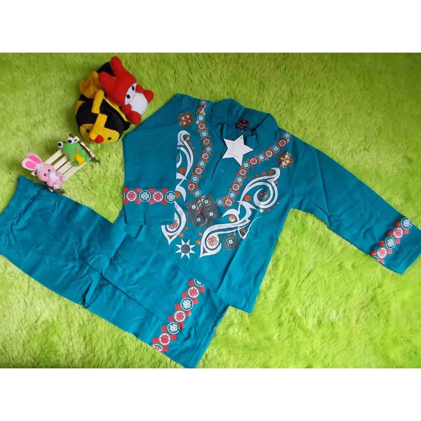 List Harga Baju Koko Anak 2 Tahun Termurah 2018 Di Bawah 200 Setelan Rbj477 Kembarshop Muslim Batita 3th Star Tosca