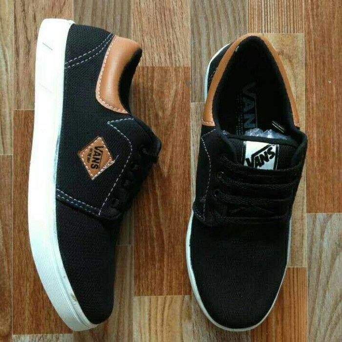 Vans casual denim blek brown special edition VD3