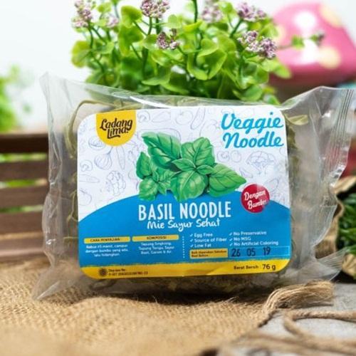 Bibit Bunga Mie Sayur Sehat (Veggie Noodle) Basil 76g – Ladang Lima