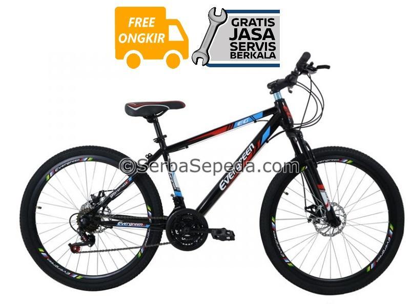 Evergreen Sepeda Gunung Mtb 26 Eg 225 - Gratis Ongkir & Perakitan By Ss Bike Shop.