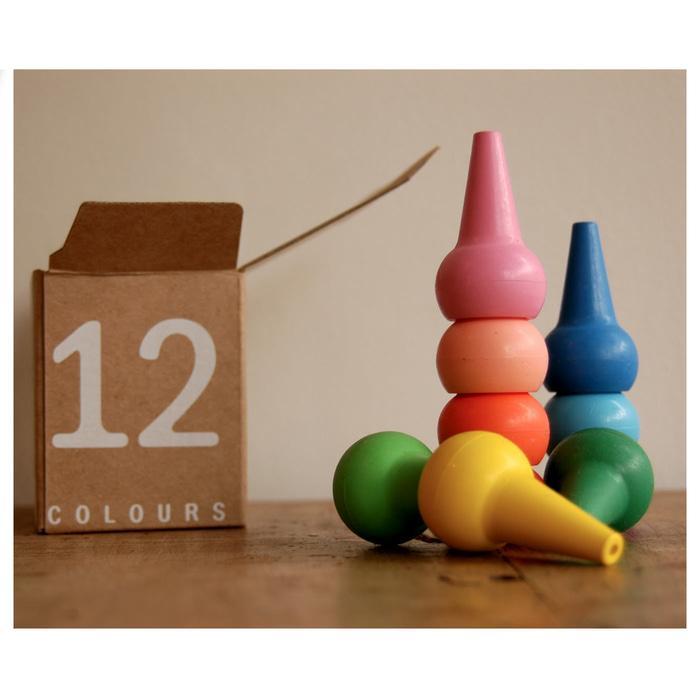 PROMO Playon Crayon Pastel - 12 Pcs TERLARIS