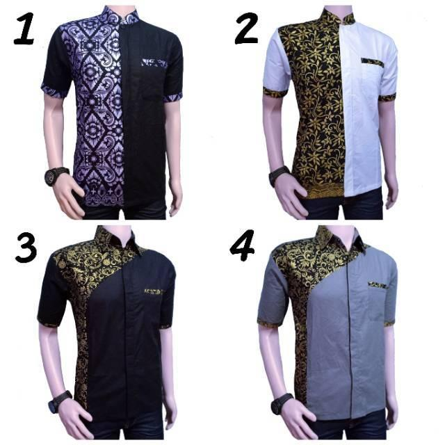 (Tp) Fashion Muslim Koko Al Haramain Couple Seri C07 Dewasa Size M/L/XL - Baju Koko Paling Murah 1 2 (No.1 M)