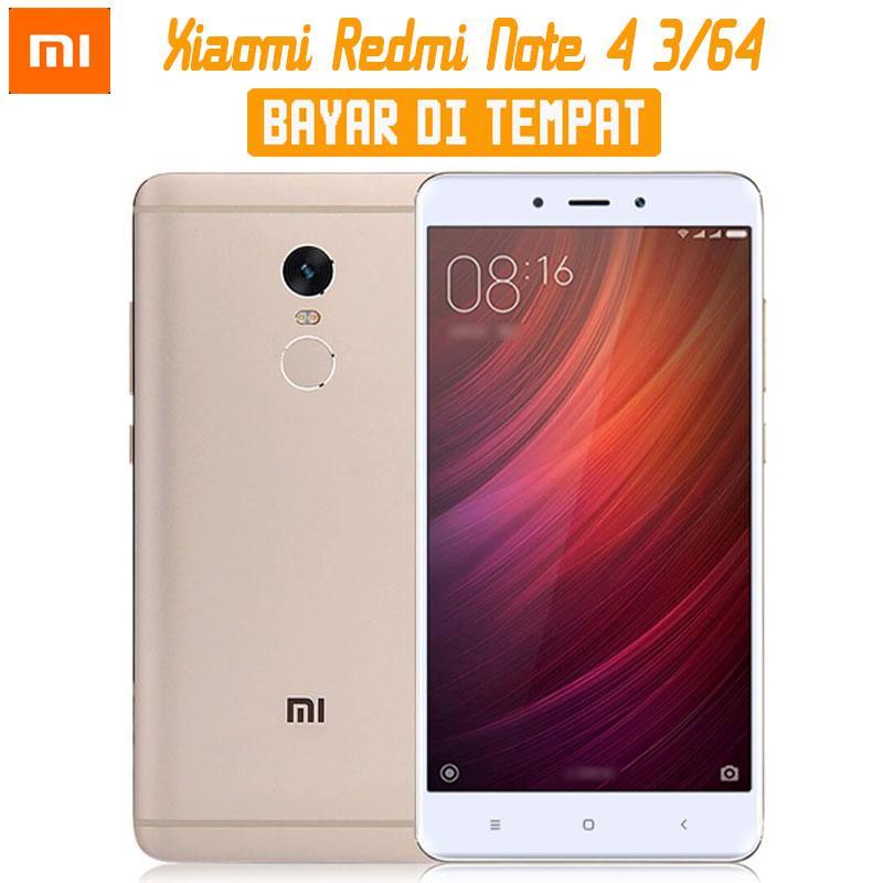 Xiaomi Redmi Note 4 - Ram 3GB/64GB - ( Ada B.Indonesia & 4G LTE )