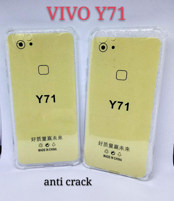 Softcase anti CRACK for Vivo y71 new Hardcase Casing Y71