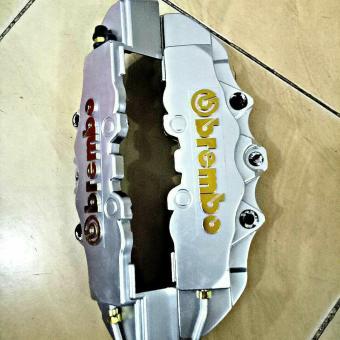 Harga Penawaran Cover Caliper Cakram Brembo Silver Besar discount - Hanya Rp95.150