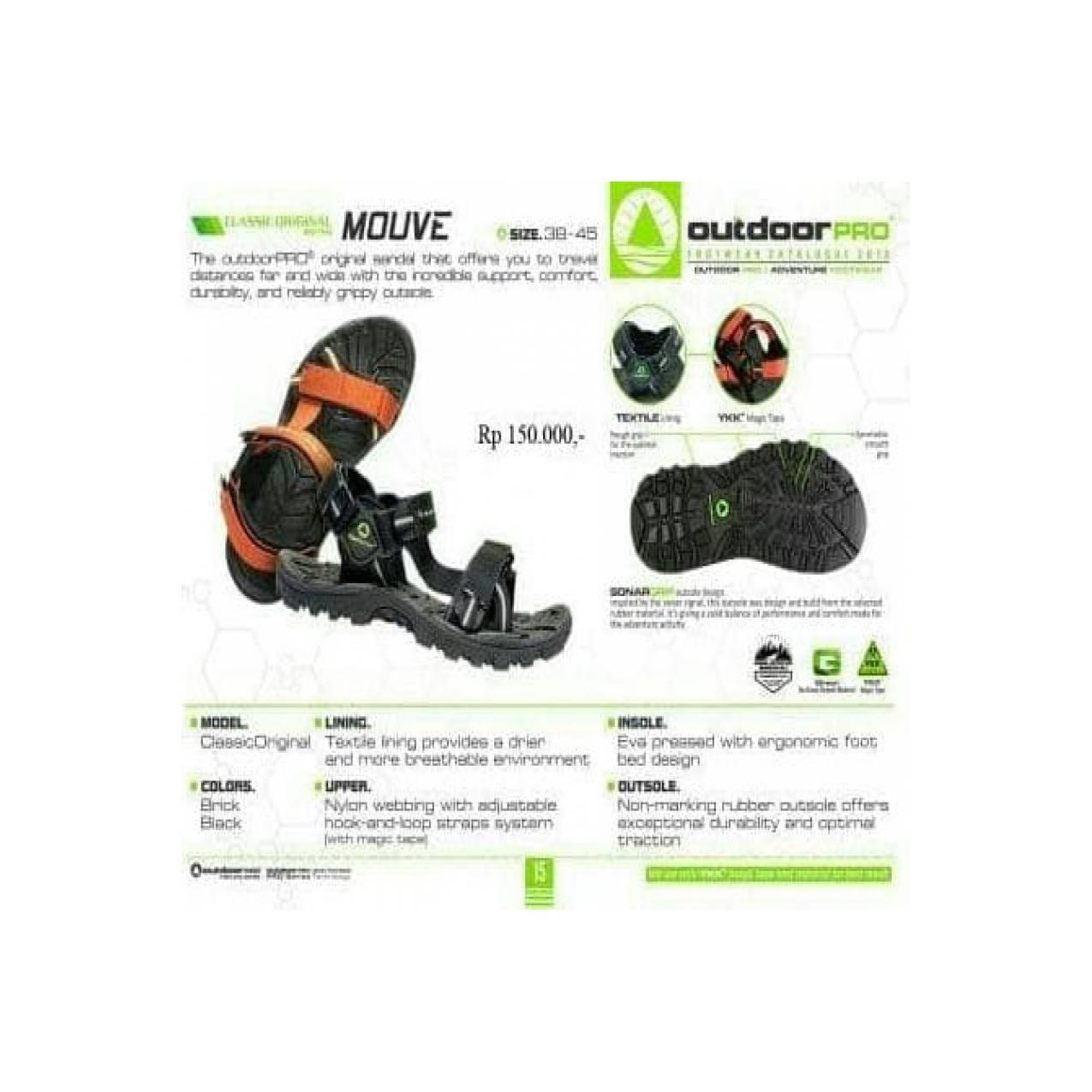 Jual Sandal Gunung Outdoor Pro Seri Mouve Not Eiger Consina Rei Boogie
