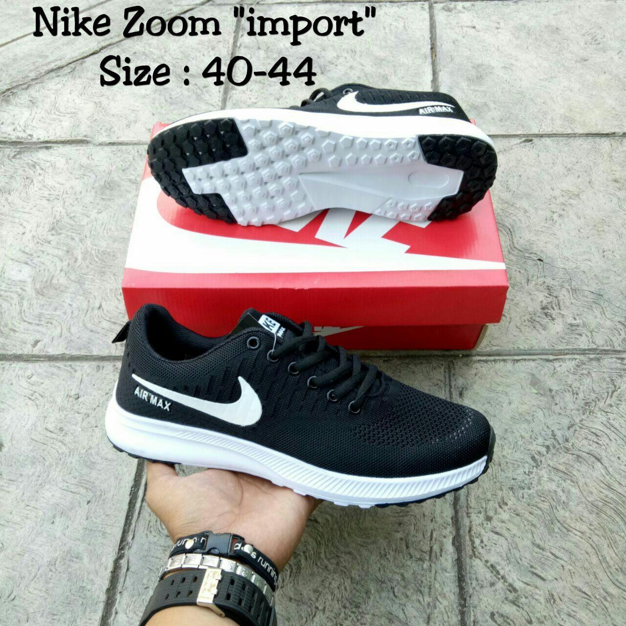 Nike Zoom Airmax Black White