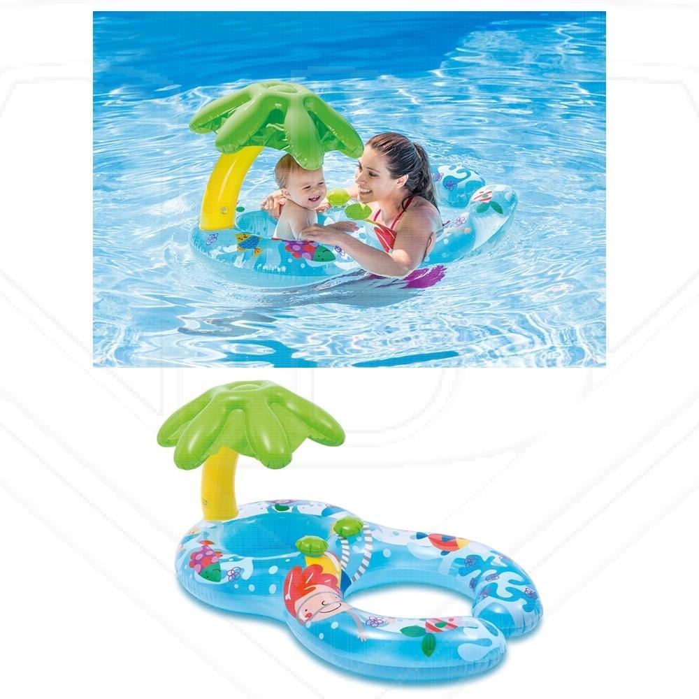 Intex 56590 Baby And Mom My First Swim Float Pelampung Ibu Dan Anak 59574 Ban Renang Air