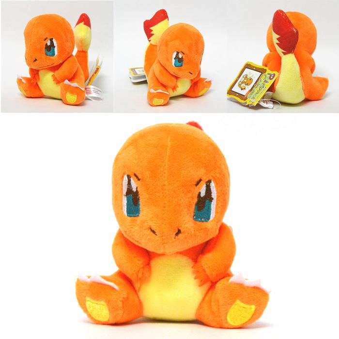 004 Boneka Charmander 15cm Boneka Pokemon Lucu Banget Impor - kzzMoQa