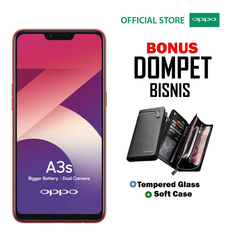 Oppo A3S 2GB/16GB - Plus Dompet Menarik