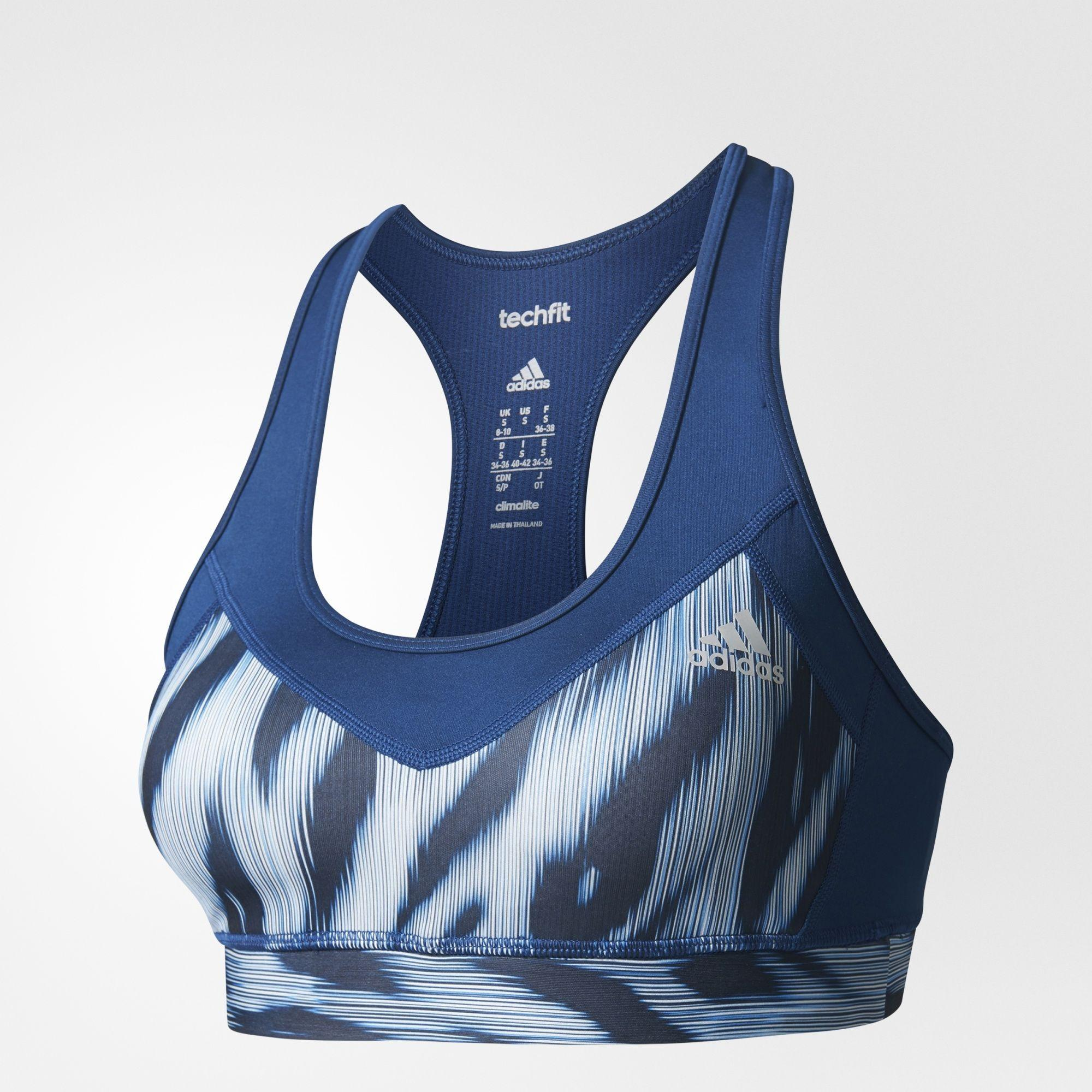 ADIDAS Techfit graphic Sport Bra anti UV 50+ - BK2944 clearance