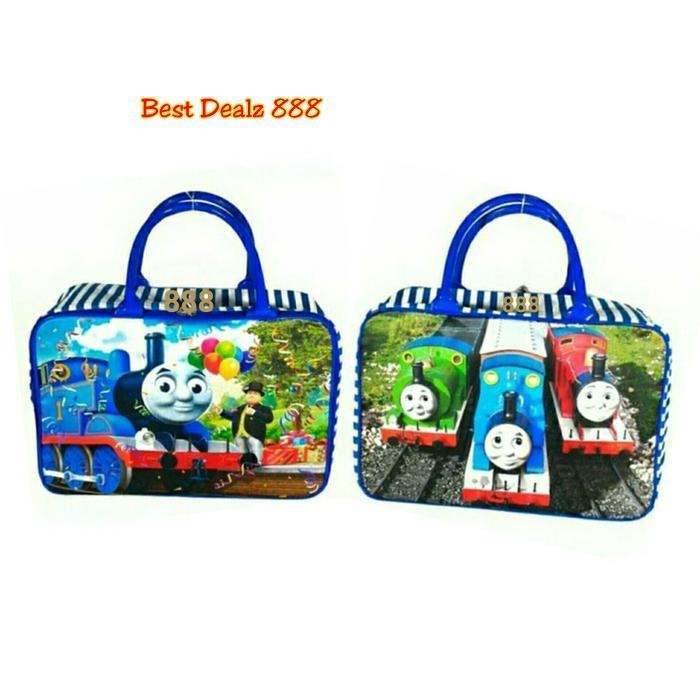 Harga Diskon!!! Tas Travel Bag Koper Kanvas Renang Anak Dewasa Thomas By Barang_eksis.