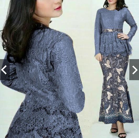 ba5332b98bd9d481b0833782555a1852 10 List Harga Dress Brokat Muslim Simple Terbaik tahun ini