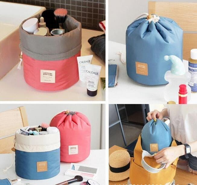 Hot Item!! CARRY ALL TRAVEL COSMETIC POUCH / DOMPET KOSMETIK SERUT - ready stock
