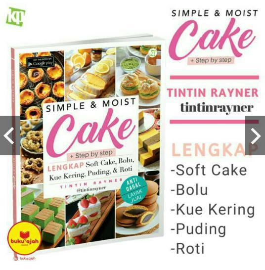 Simple & Moist Cake - tintinrayner