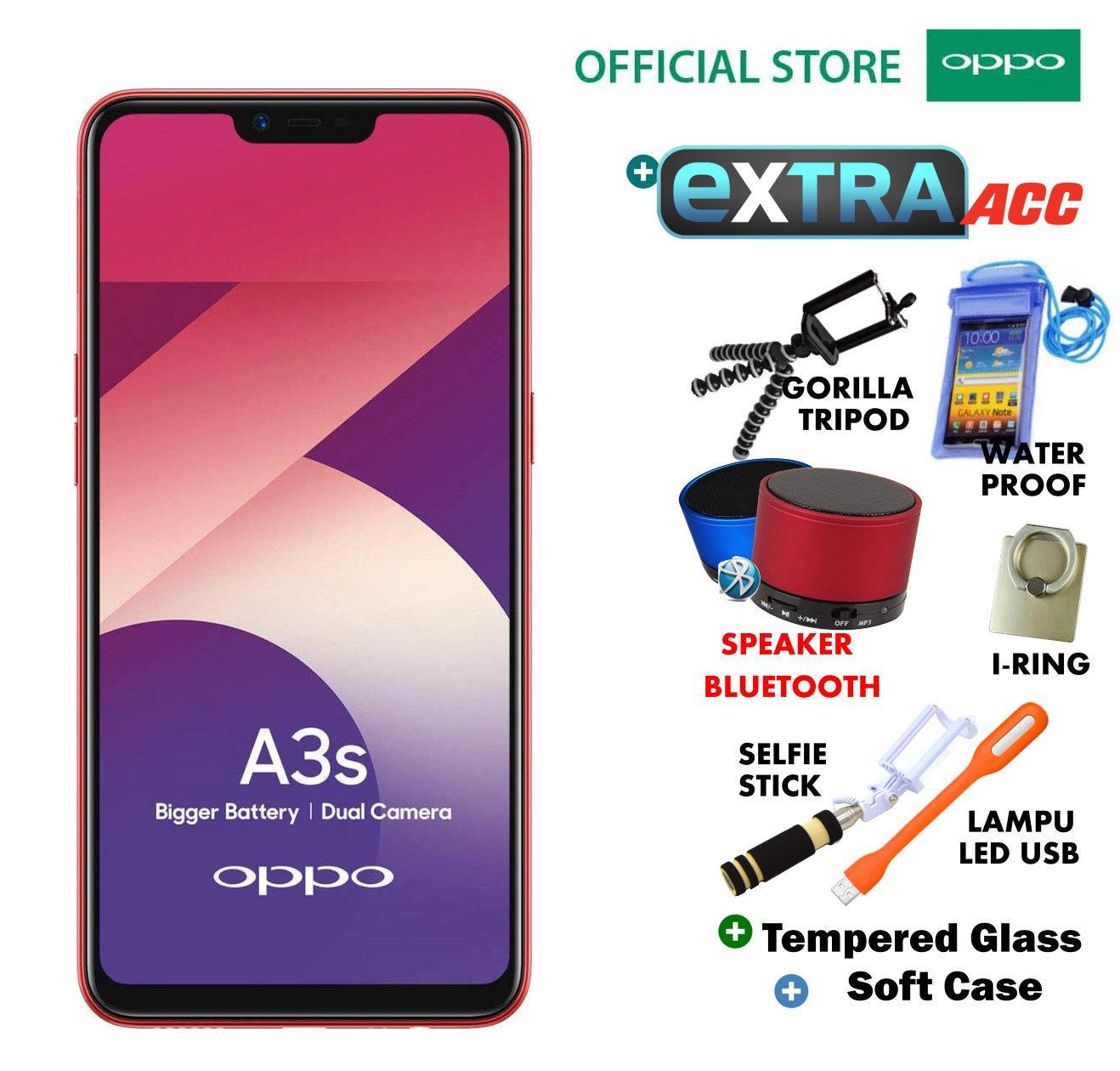 Oppo A3S 2GB/16GB - Plus Extra Bonus