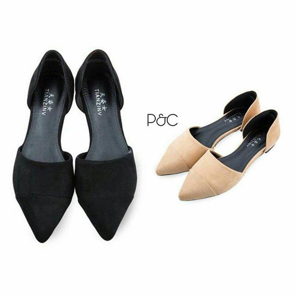 Sepatu murah Slim Flat Shoes Termurah Di Lazada