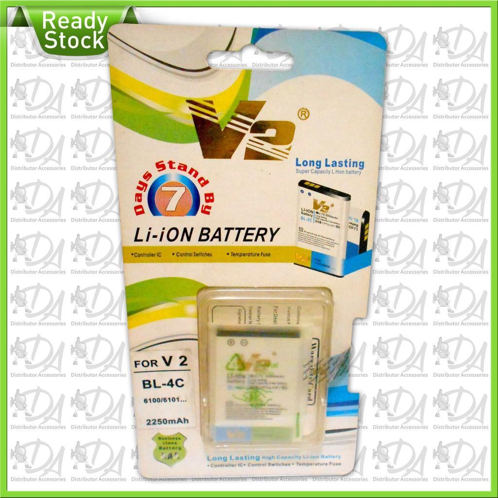 Hot Promo Baterai Li ion V2 BL-4C 2250mAh/ speaker aktif / speaker laptop / bas