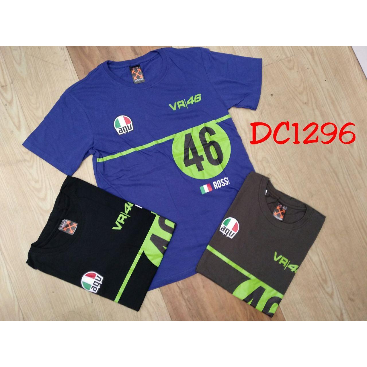 Kaos Karakter VR46 (DC1296) Lengan Pendek  Tshirt Carded  Baju Cowok Murah