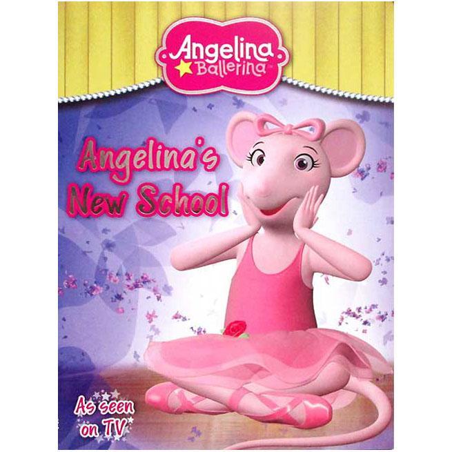 Terlaris Buku Cerita Anak Angelina Ballerina - Angelinas New School Story Book Buku Dongeng Bergambar