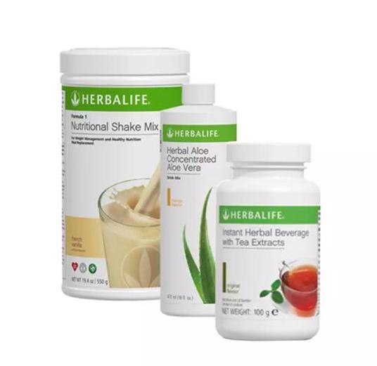 Herbalife_#Paket Hemat ShakeAloe,thermotea #program basic NC 1bulan
