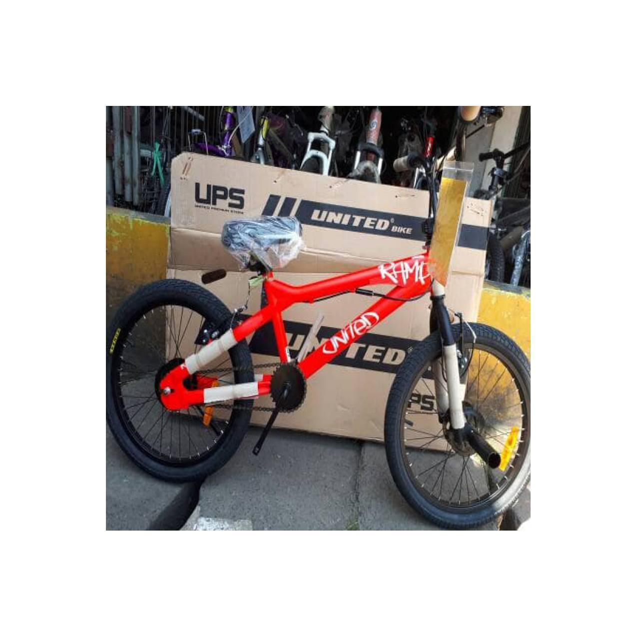 Sepeda Bmx 20 United RAMP Limited Edition