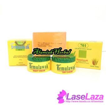 Cheapest Price Cream Temulawak Siang & Malam Hologram Original Plus Sabun 701 Perawatan Kulit Best Quality
