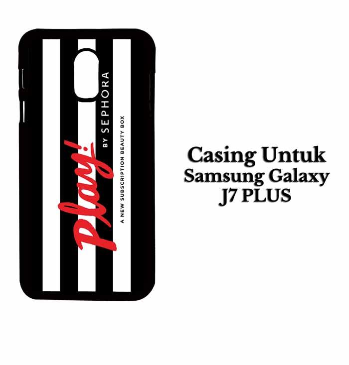 Casing SAMSUNG J7 PLUS Play by Sephora Hardcase Custom Case Se7enstores