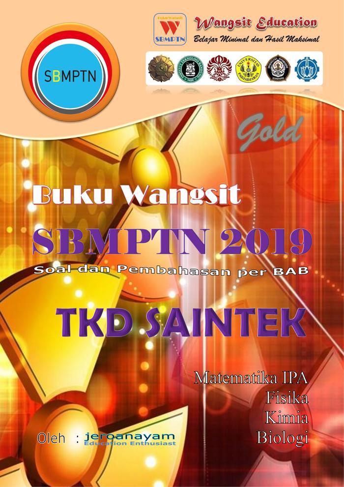 Paket Buku Wangsit Sbmptn 2019 Gold Ipa By Blamosk Shop.