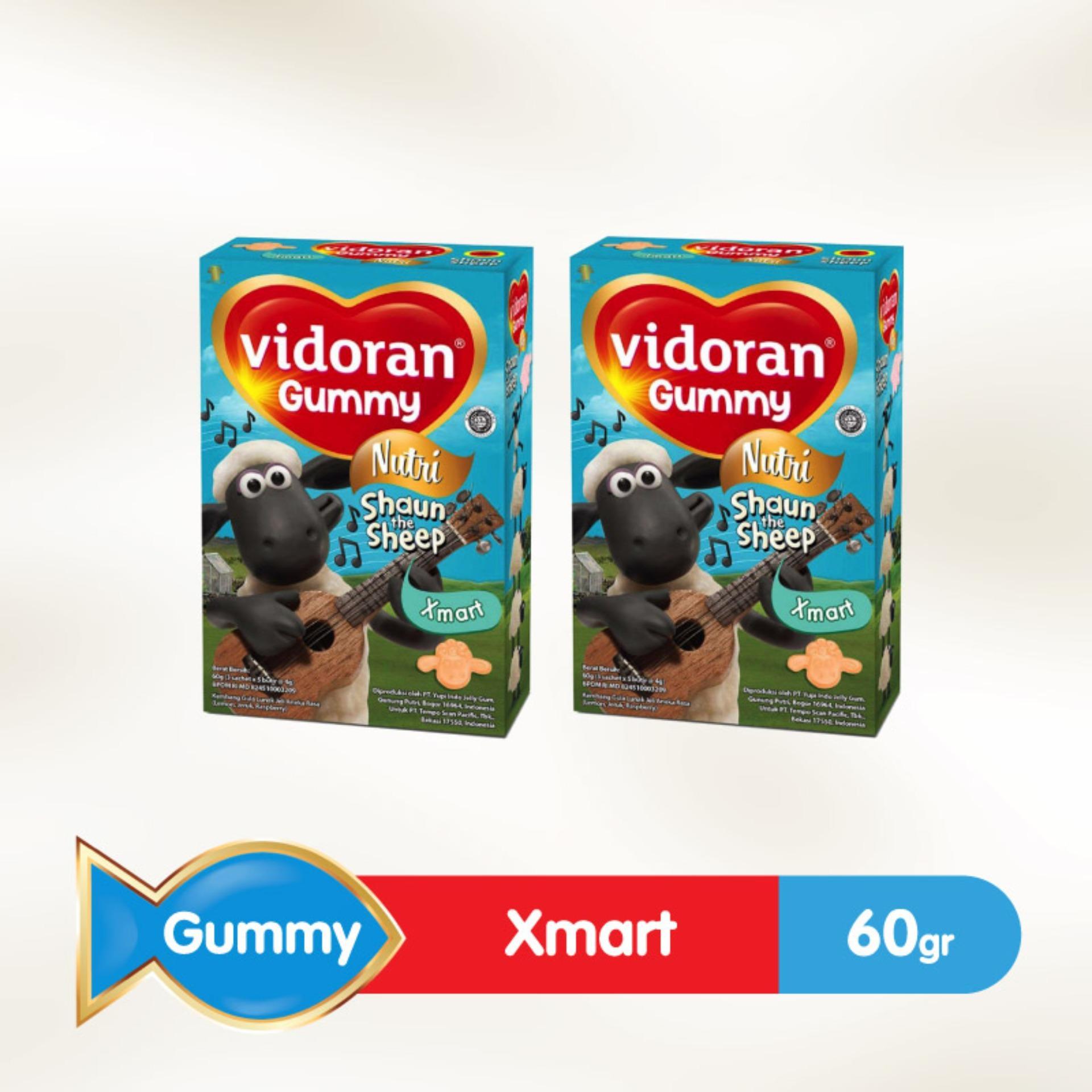 Buy Sell Cheapest Mstore 60g 2 Best Quality Product Deals Wrp Low Fat Milk Chocolate Vanilla 2pcsx60g Vidoran Gummy Xmart Nutri 60 G Pcs