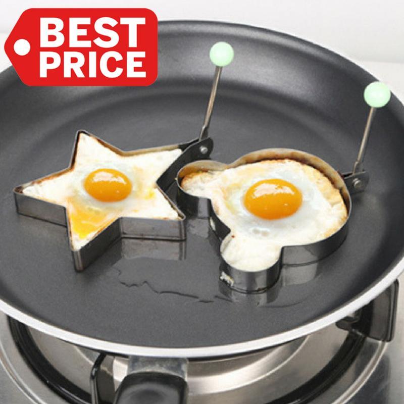 TOKO49 - Alat cetakan telur goreng & panggang berbentuk unik