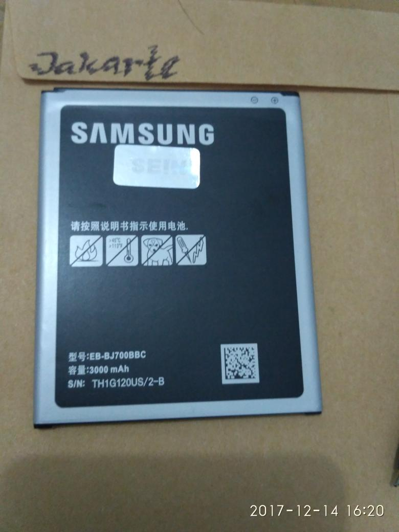 Batre Battery Samsung Galaxy On7 On 7 J7 EB-BJ700BBC Oroginal Baterai