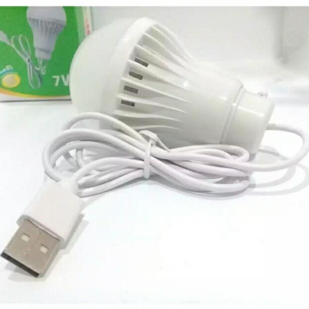 LED Bohlam Lampu USB 7 Watt 1 Pcs Warna Random