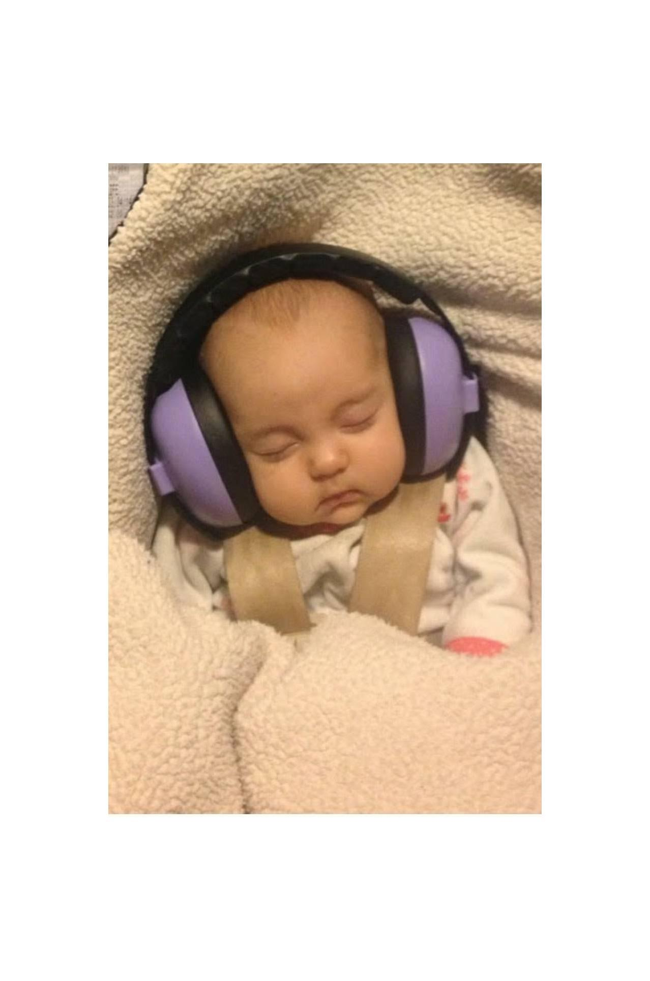 Buy Sell Cheapest Babybanz Mini Earmuff Best Quality Product Deals Baby Banz Squiggle Purple