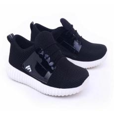 Garsel Shoes Sepatu Kets Anak Laki-Laki Hitam - GNW 9568
