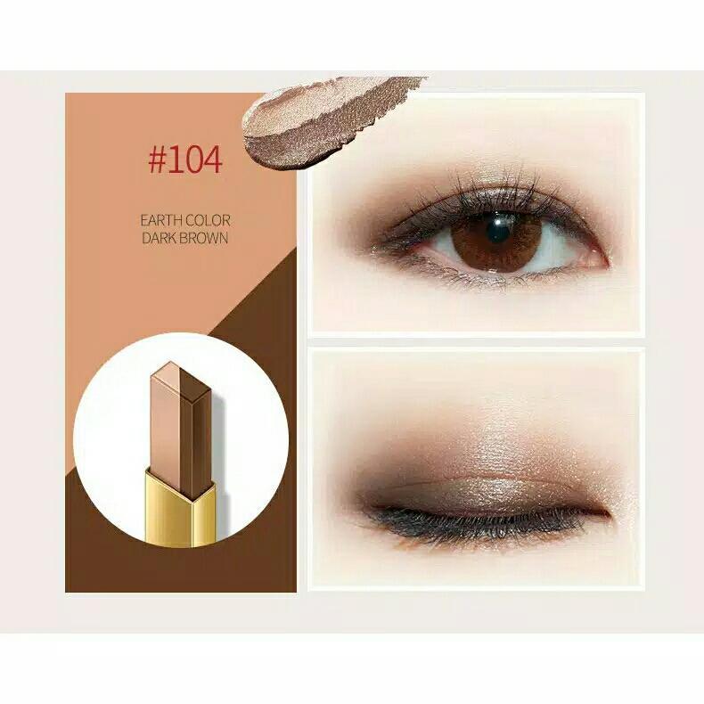 Bioaqua Eyeliner Eyeshadow Pen 2 Gradasi Warna