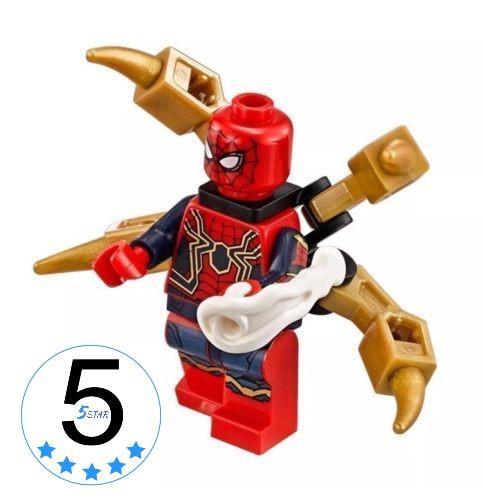 Lego Spiderman Infinity War Bootleg / Lego Minifigure Spiderman Infinty War - Brand New In Box