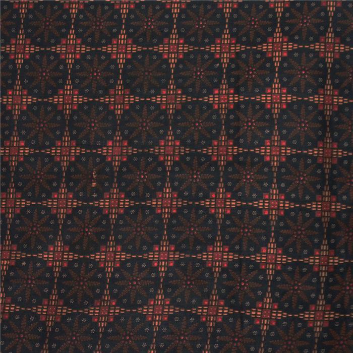 TERLARIS Kain Batik 2 meteran, Kain Embos, Bahan Batik untuk Kemeja,KBKE001-20B PROMO