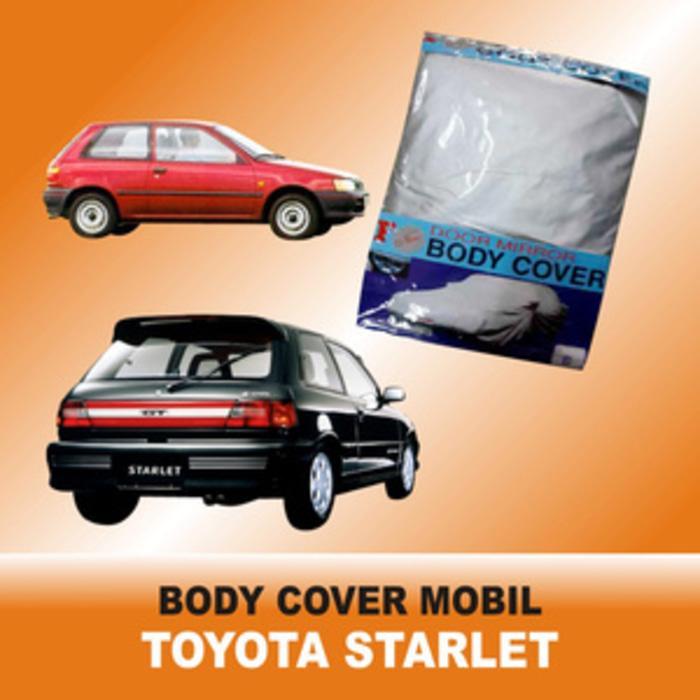Harga best seller body cover sarung penutup toyota starlet untuk mobil kesayangan | HARGALOKA.COM
