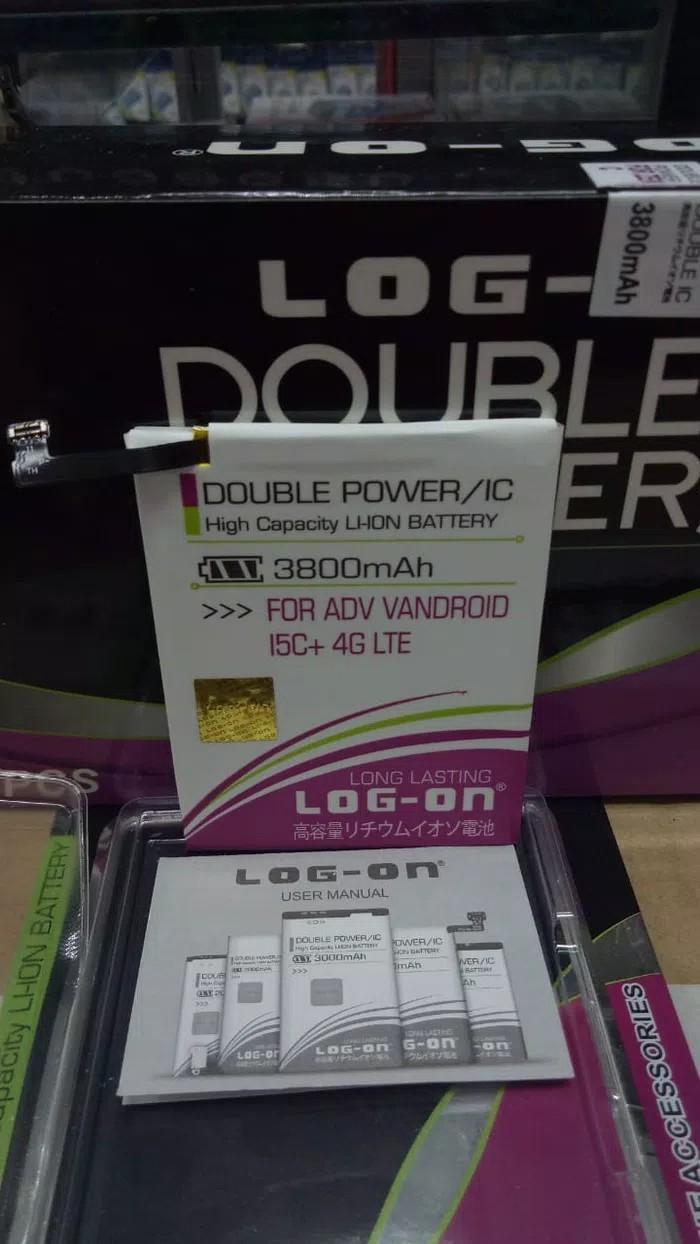 Jual Advan Vandroid I5c 8gb Putih Harga Rp 999000 4g Lte Plus Kapasitas 3800mah Log On Original Battery Batre Baterai Double Dobel