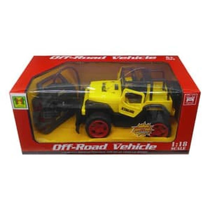 SPECIAL Mainan Anak - Remote Control OffRoad Vehicle RC Mobil Jeep Wrengler
