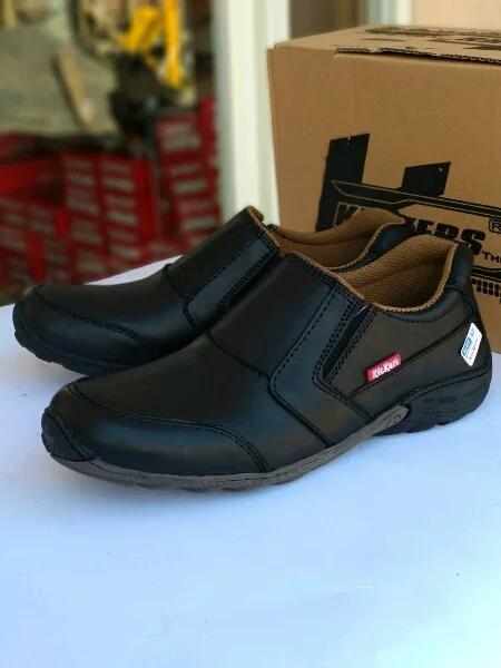 kickers - sepatu pantofel casual pria   formal   semi formal kerja santai  slip on kulit 717f47668a