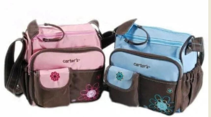 tas carter mini / tas perlengkapan bayi / diaper bag carter small